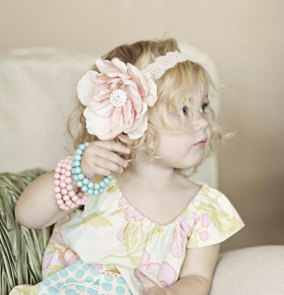 adorable, child, children, curls, flower, headband, jewelry, photography