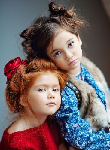 adorable, child, children, ginger, girls