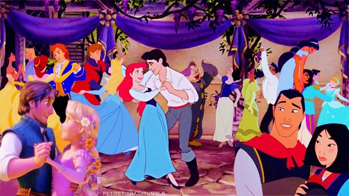 aladdin, beauty and the beast, cute, dance, disney