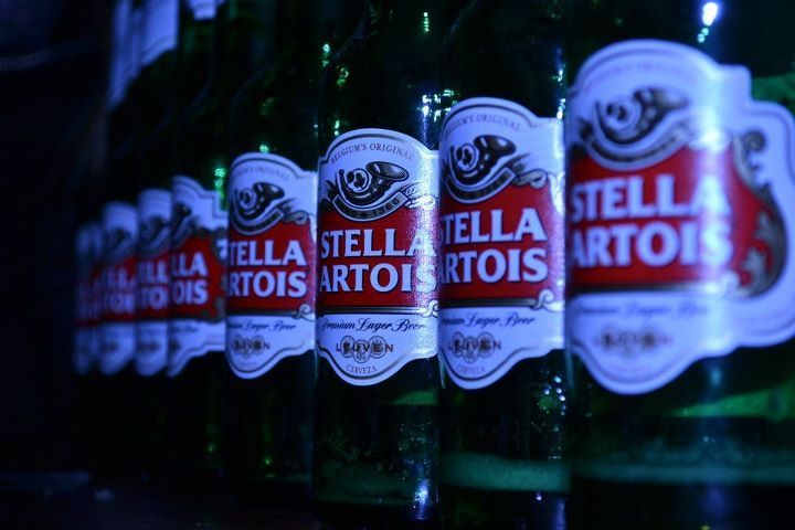 alcohol, beer, night, party, stella artois
