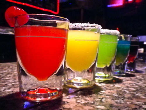 alcohol, blue, cherry, colorful, cute