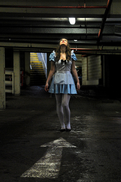 alice, alice in wonderland, child, fairytale, innocent