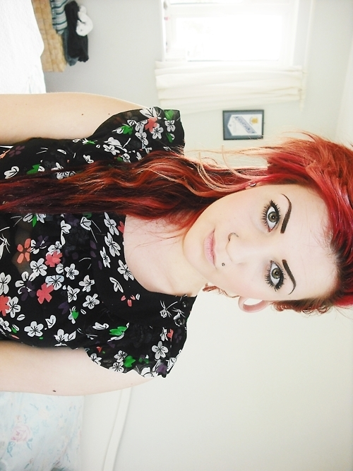 alternative, alternative girl, beautiful, beauty, color hair