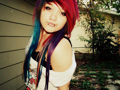 alternative girl, awesome, cool, cute, hair