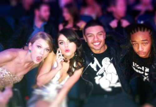 amas, jaden smith, selena gomez, taylor swift