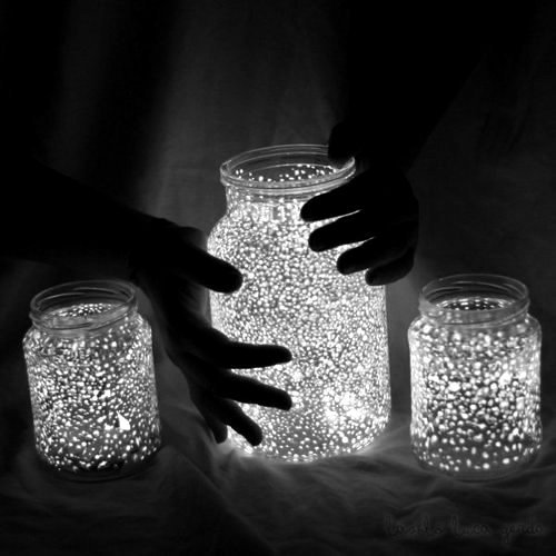 amazing, art, beautiful, black, black and white, bright, cute, dark, hand, hands, jar, lights, photography, pretty, white