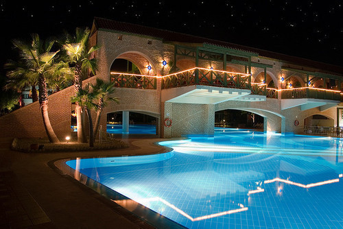 amazing, cool, house, luxury, night, photography, pool, rich