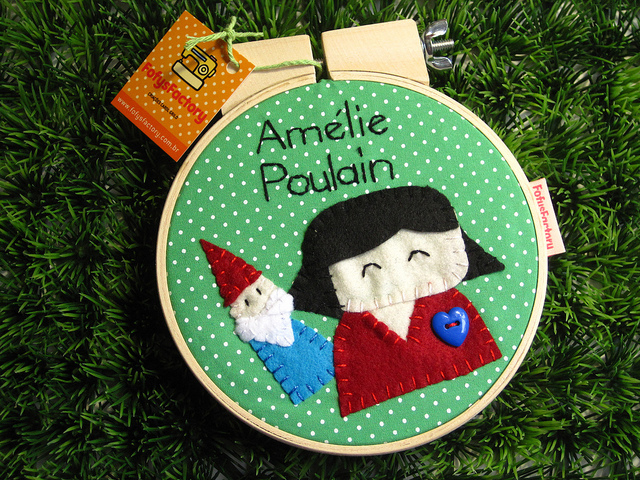 amelie poulain, decoration, fofys factory, heart, movie