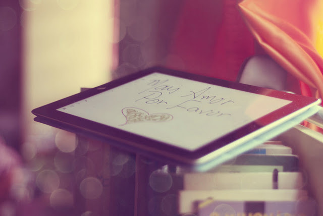 amor, bokeh, cute, ipad, love