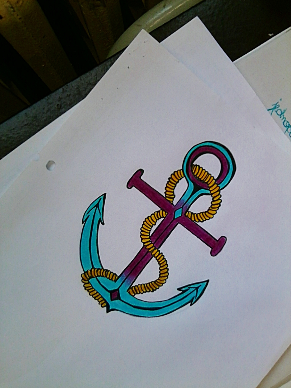 anchor, art, colors, cute, photography