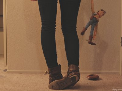 andy, girl, photo, toy story, toys