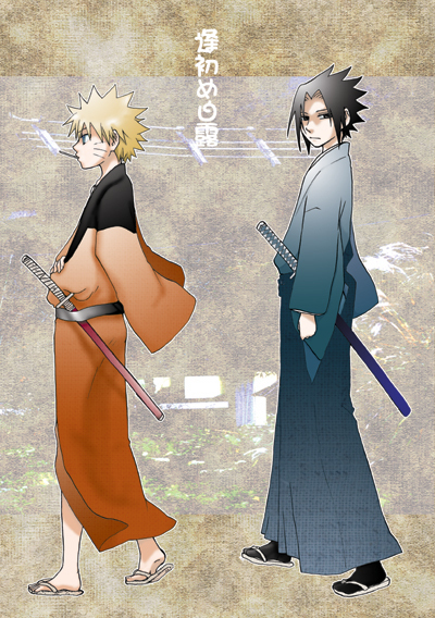 anime, awesome, katana, naruto, sasuke