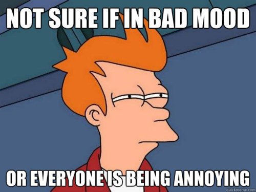 annoying, bad mood, cartoon, everyone is annoying, funny
