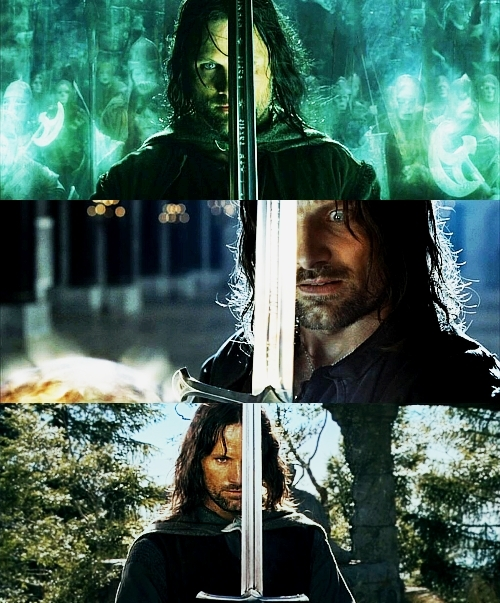 aragorn, elessar, the lord of the rings, viggo mortensen