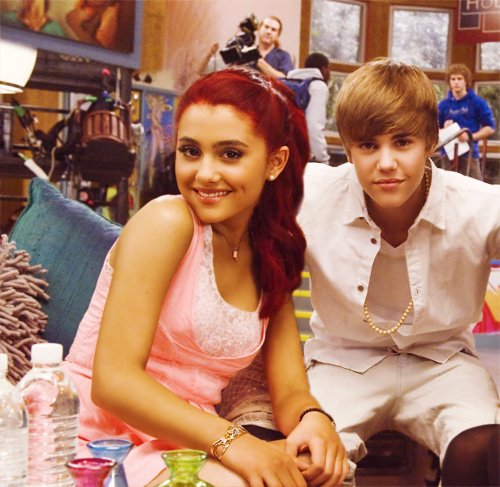 ariana grande, beautiful, girl, jariana, justin bieber