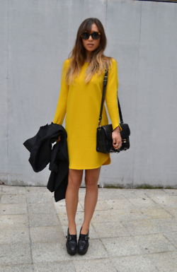 art, beautiful, blond, brunette, clothes, cute, dress, eyes, fashion, girl, gorgeous, hair, inspiration, life, love, model, photography, photoshoot, pretty, sexy, street style, style, woman, yellow
