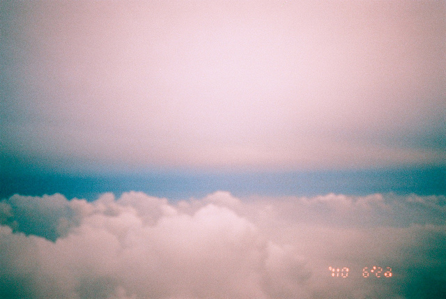 art, clouds, film, grain, hipster