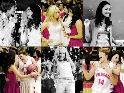 ashley tisdale, high school musical 1, hsm, vanessa hudgens, zac efron