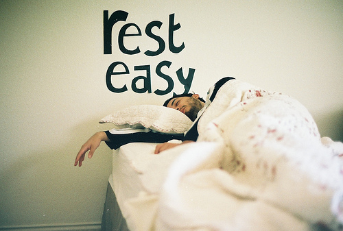 asleep, bed, bedroom, boy, comfy, cute, easy, eiderdown, guy, man, nap, pillow, rest, room, sleep, typography, wall, white, written