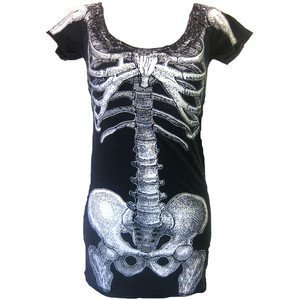 awesome, black, bones, cool, long, pretty, shirts, t-shirts