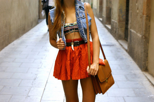 aztec, fashion, outfit