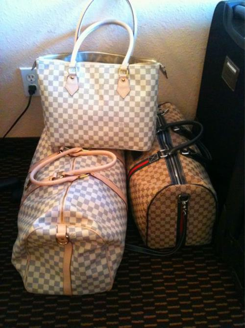 bag, bags, cute, damier, fashion, louis vuitton, luggage, pretty, style, stylish, travel
