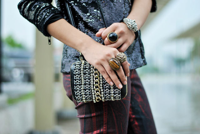 bag, black, bracelet, chain, exclusive