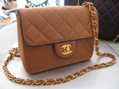 bag, brown, chanel, elegant, fancy