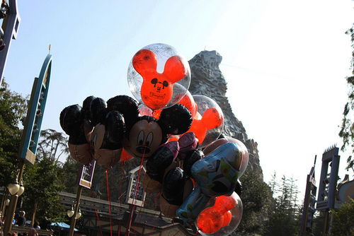 ballon, ballons, beautiful, boy, cute, disney, girl, guy, mickey, photo, photograph, photography