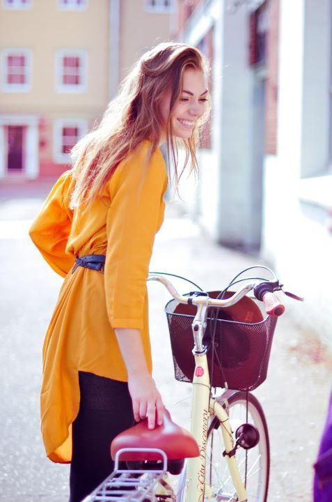 basket, beautiful, bicycle, bike, blouse, bright, buy, clothes, clothing, cute, fashion, happy, hot, joy, love, model, pretty, purchase, sexy, shop, smile, style, yellow