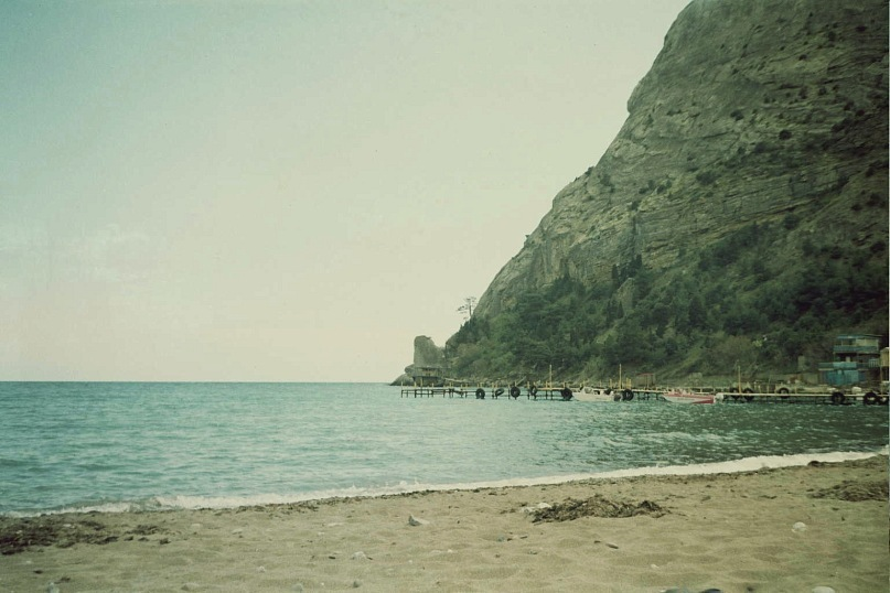 beach, blue, crimea, film, green