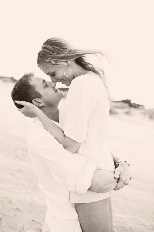 beach, couple, hug, kiss, love