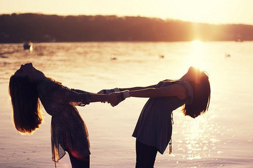 beach, friends, friendship, girls , sunset
