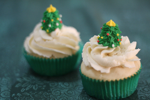 beautiful, beauty, christmas, chritnas, cupcake