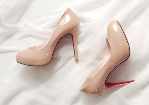 beautiful, beige, expensive, fashion, heels, high heels, love, nice, red, rich, shoes, varnish