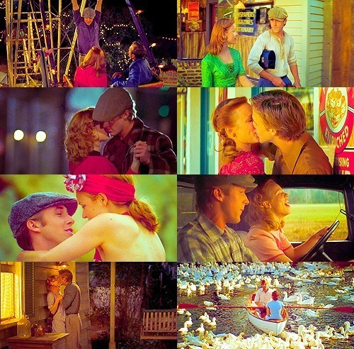 beautiful, boy & girl, couple, cute, dancing, kiss, kissing, love, movie, perfect two, the notebook, together, two