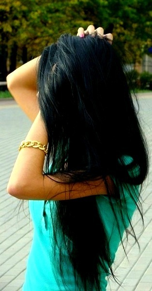 beautiful, brunette, fake, girl, long hair, summer, tan, yoo nese var)