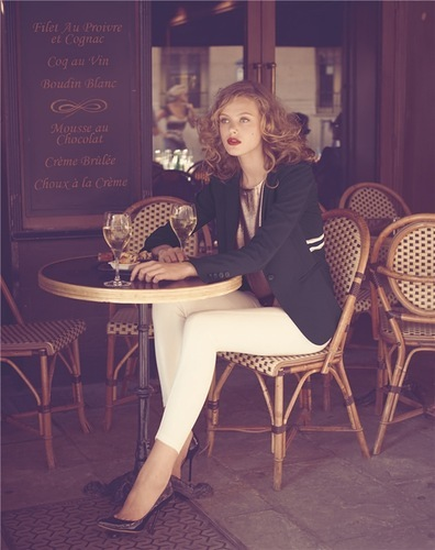 beautiful, cafe, classy, curles, cute, fashion, frida gustavsson, girl, hair, lips, lipstick, model, models, neiman marcus, photography, pretty, red lips, white, wine, woman
