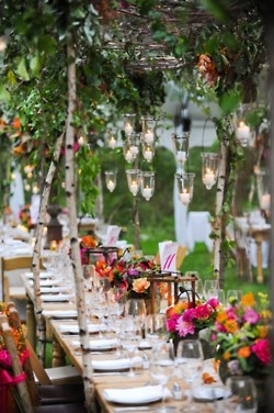 beautiful, candles, flowers, garden, hippie