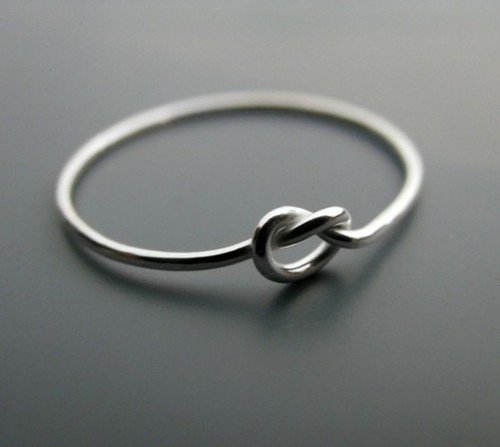 knot band wedding trinity rings product engraved ring