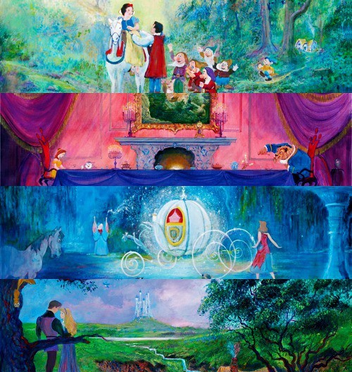 beauty and the beast, cinderella, disney, sleeping beauty, snow white