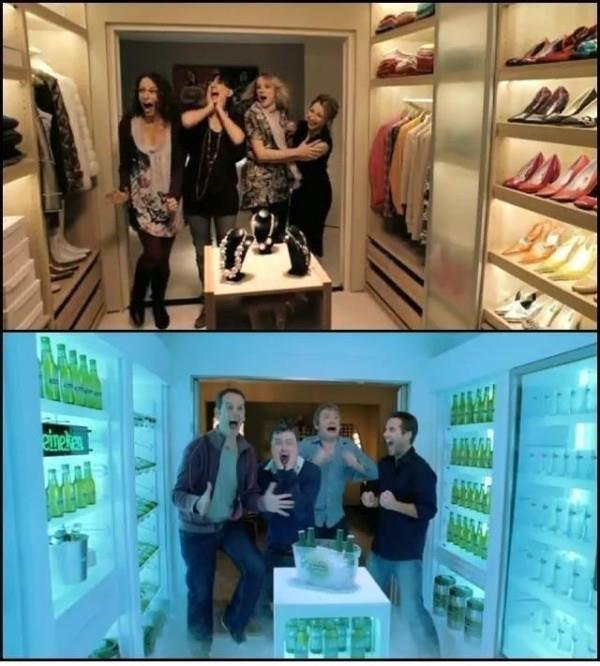 beer, closet, clothes, girl, guys
