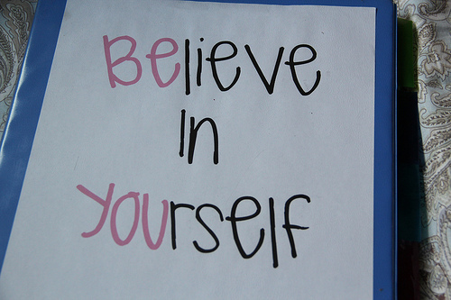 believe in yourself, cute, photo, sweet, text
