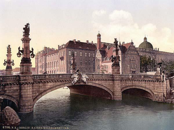 berlin, bridge, germany, william