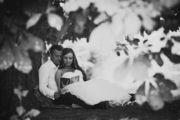 black and white, boy, bride, couple, girl