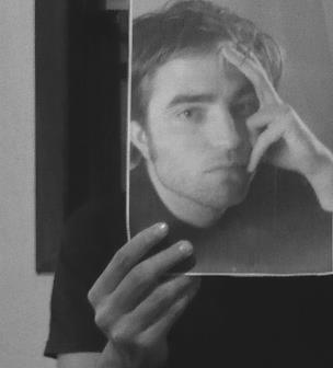 black and white, boy, crepusculo, cute, robert pattinson, twilight, vintage