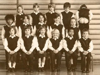black and white, class, class photo, funny, humour