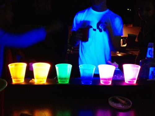 black, boy, color, colorful, cool, dream, drink, dtf, imagine, light, lights, love, party, photo, shirt, white