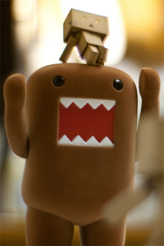 black eyes, brown, cool, cute, domo