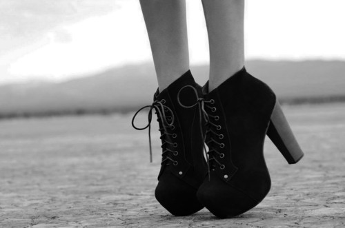 black, fashion, jeffrey campbell, shoes